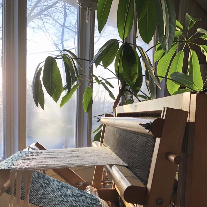 home furnishings on the loom