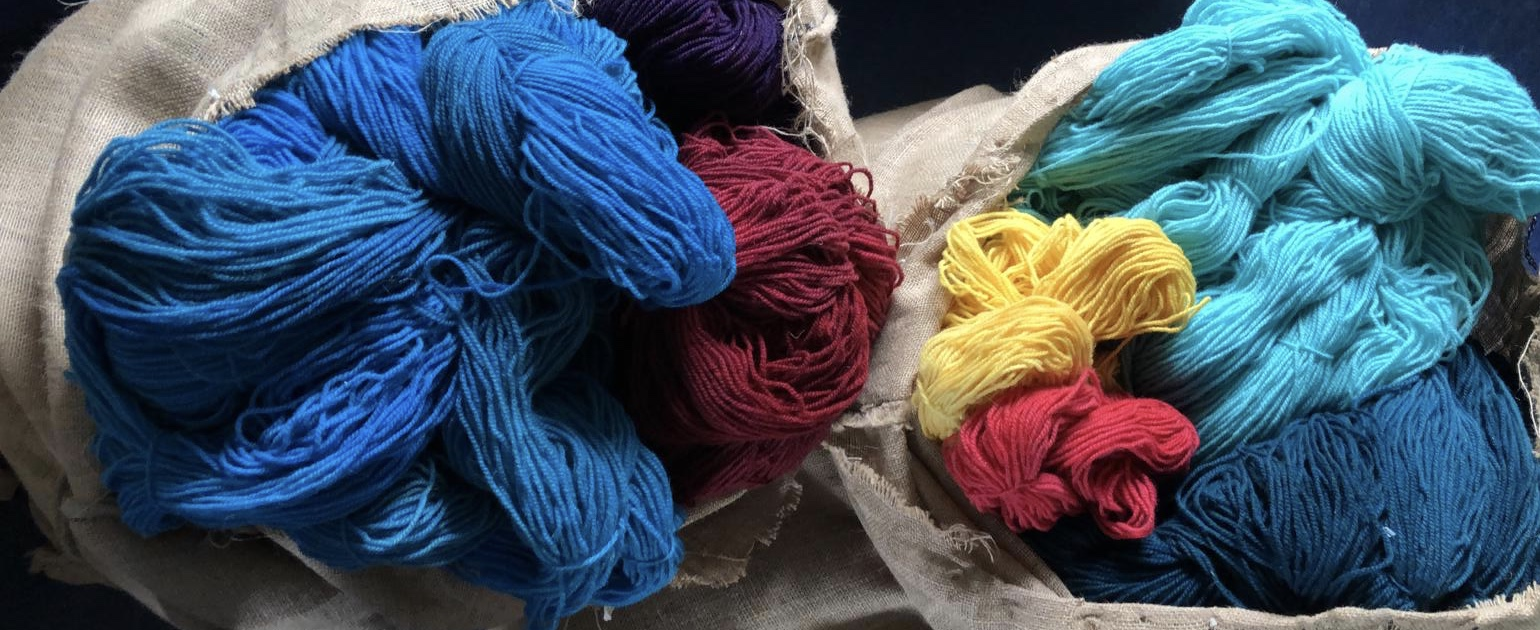 Hand-Weavers and Knitters of Hand-Dyed Wool