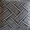 Knitted Basketweave Cushion CW2004 - All Wool Cover