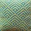 Knitted Diamond-Chevrons Cushion CW6001 - All Wool Coverr